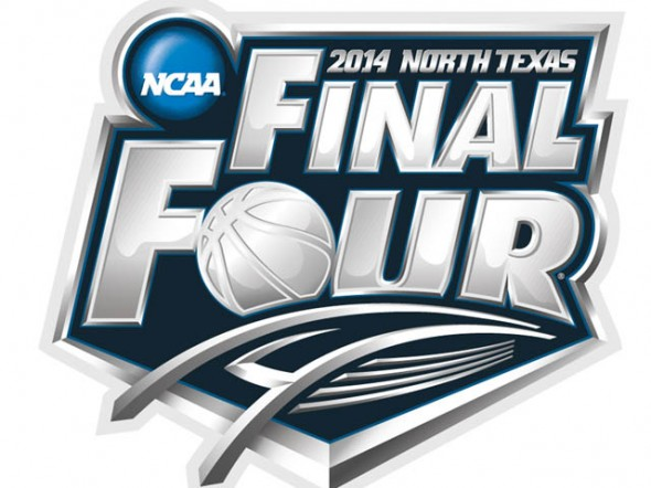 final four logo north texas stadium arlington 2014