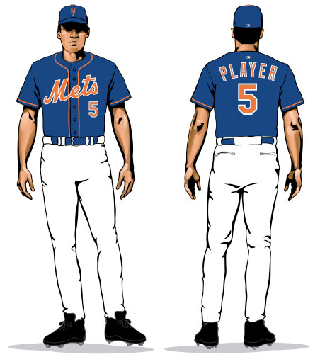 reputable site 9abbf 86547 NY Mets Show Off Two New Blue Alternate Jerseys | Chris ...