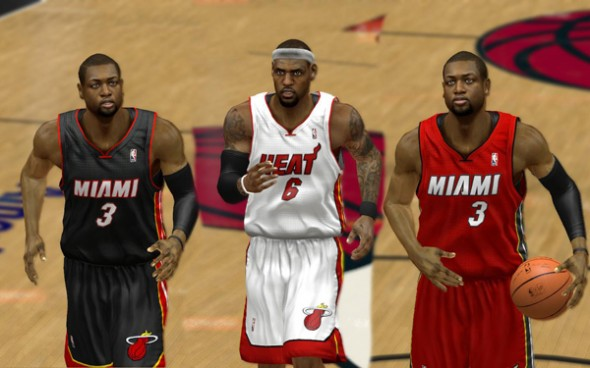 Miami Heat Alternate uniforms 2012 2013 new announced white black Noche Latina - 3