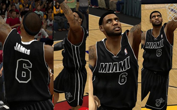 Miami Heat Alternate uniforms 2012 2013 new announced white black Noche Latina - new black