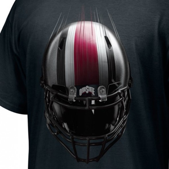 Ohio State Pro Combat 2012 uniform leaks helmet