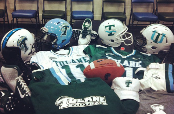 04722e642 It looks like the Tulane Green Wave will be receiving a Nike redesign in  2013