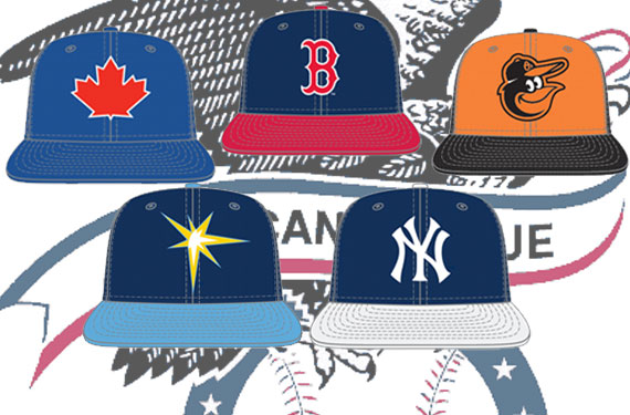 c56ee5640fe 2013 AL East Batting Practice Caps and Uniforms. Written By  Chris Creamer  ...