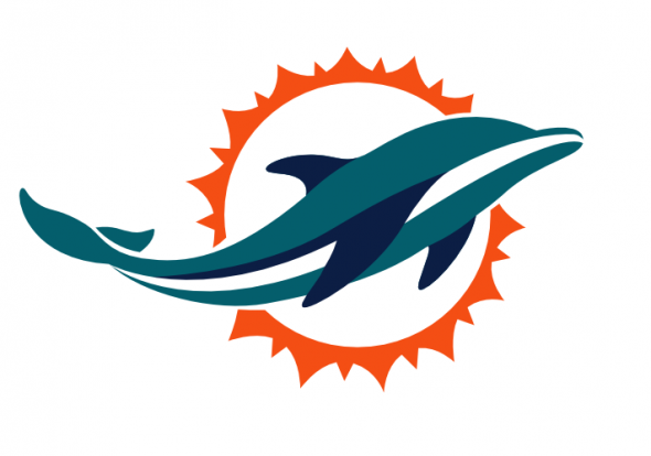 Miami Dolphins new logo 2013