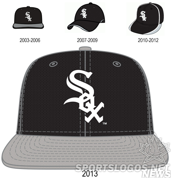 2013 BP Batting Practice Cap Chicago White Sox - hat