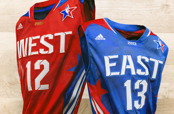 10a192753cb 2013 NBA All-Star Game Uniforms Unveiled