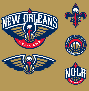 New Orleans Hornets Rebrand As Pelicans Unveil New Logos