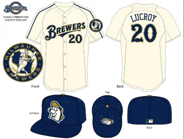 Milwaukee Brewers Design a YOUniform Contest Ben Peters