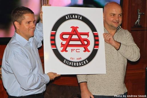 Atlanta Silverbacks soccer club NASL new logo - announce