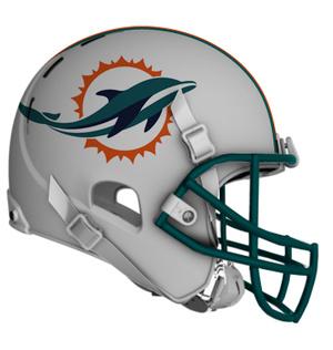 New Miami Dolphins Helmet 2013