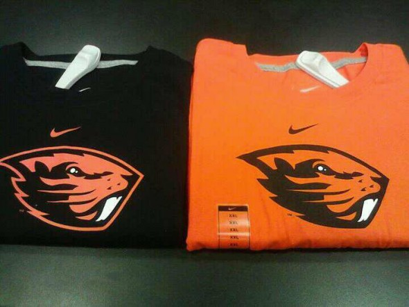 Oregon State Beavers tshirts