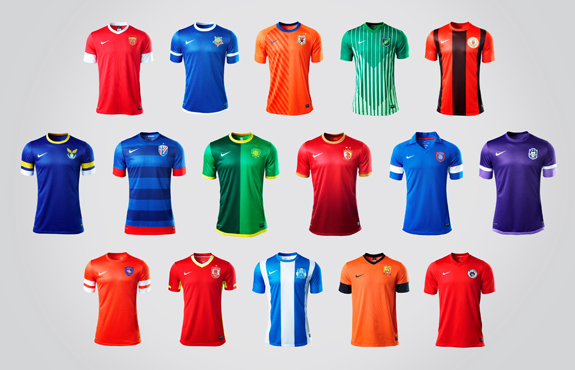 2b347e94c89 Nike today released the new uniform designs for all 16 teams in the China  Football Super League