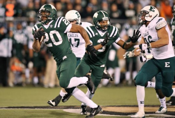 Ohio Bobcats green-on-green green NCAA Football Rules Committee proposal uniform