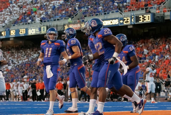 boise blue players NCAA Football Rules Committee proposal uniform