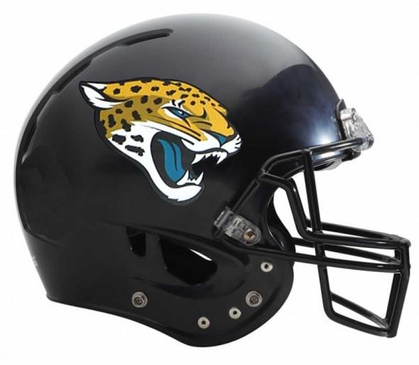 Jacksonville Jaguars Logo - helmet