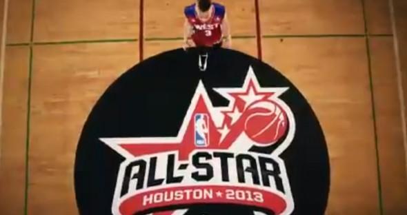 Macklemore Wing$ video NBA shoes promotional - logo