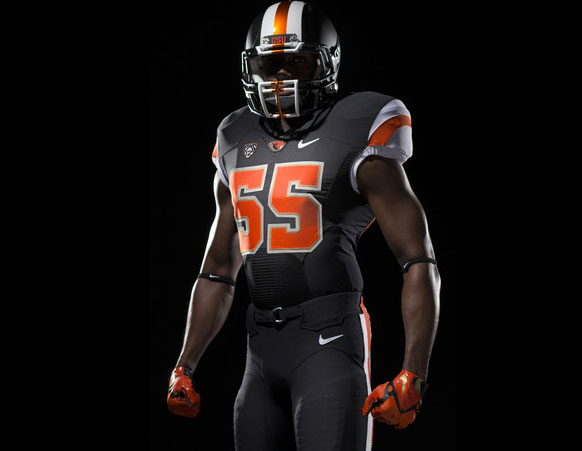 separation shoes bc2a7 6d5a8 Nike Makes it Official, Releases Black Uniforms Ohio State ...