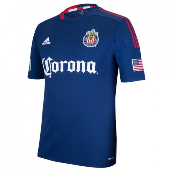shop - chivas USA jersey week reveal week MLS soccer new uniform jersey