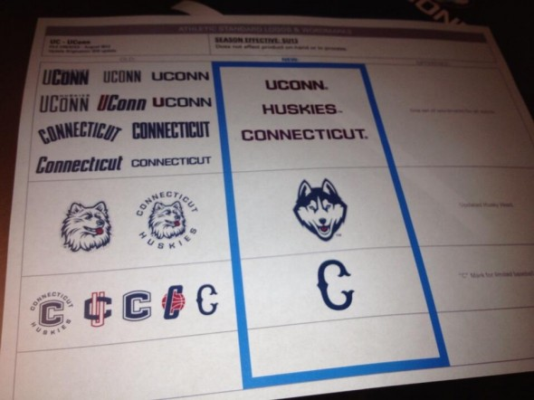 Many - UConn University of Connecticut new logo uniforms