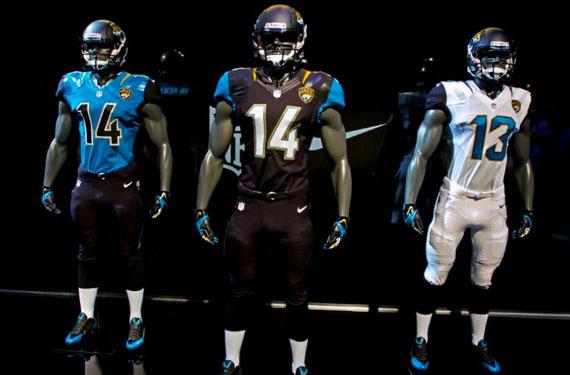promo code 1bcdd 93a40 Jacksonville Jaguars Unveil New Uniforms | Chris Creamer's ...