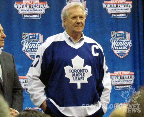 Darryl Sittler Maple Leafs 2014 Alumni Jersey