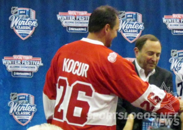 Back of Red Wings 2014 Alumni Jersey (Photo: Clark Rasmussen/SportsLogos.Net)