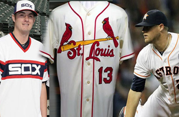 MLB Team Uniforms