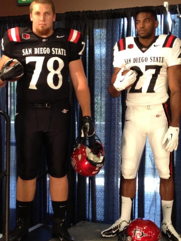 football - SDSU New Logo New Uniforms San Diego State Aztecs