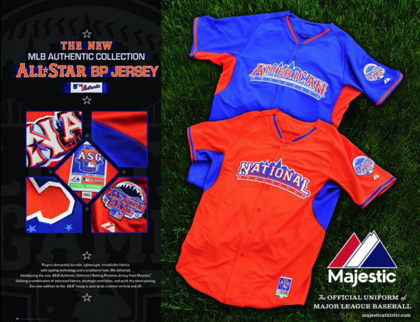 2013 MLB All-Star Game Jerseys