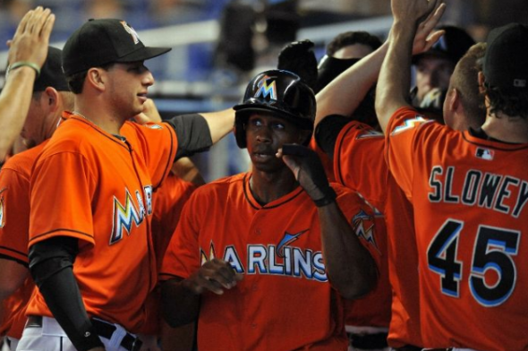Miami Marlins Orange Jersey 2013