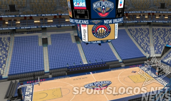 New Orleans Pelicans Unveil Their Home Court Chris