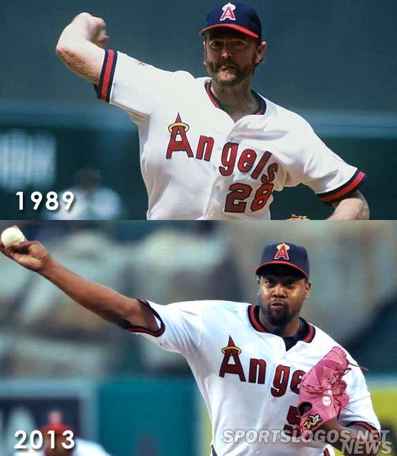 innovative design aa7db 5f17a LA Angels Have Throwback Weekend with Two Retro Unis | Chris ...