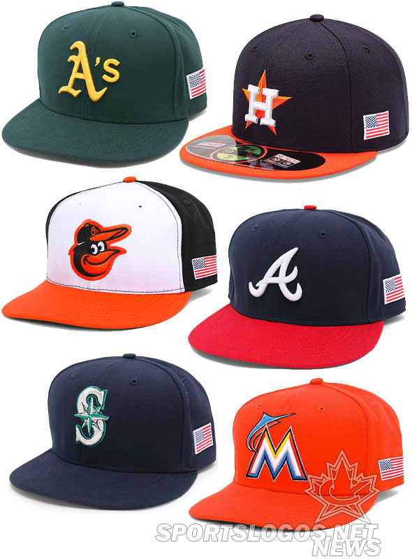 eae52970ecf47 Some of the flag caps for sale on MLB.com ...
