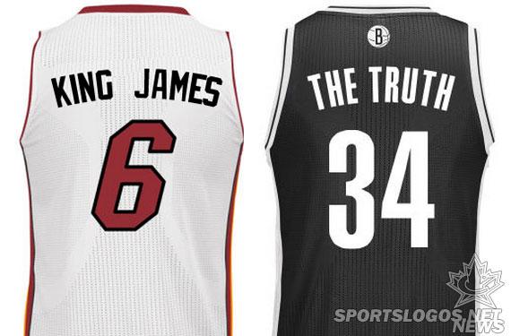the latest 57045 8d964 NBA Considering Player Nicknames on Jerseys   Chris ...