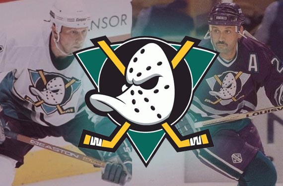49cd4cb41 As part of their 20th anniversary celebrations the Anaheim Ducks ...