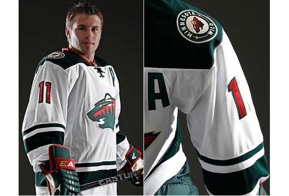 low cost 75dd9 f683a New Minnesota Wild Uniform Leaked Early | Chris Creamer's ...