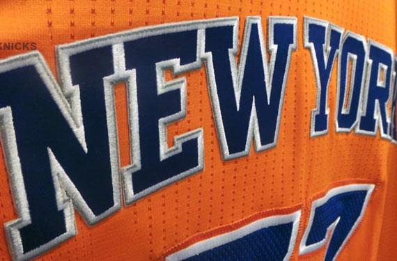 Knicks New Orange Alternate Jersey