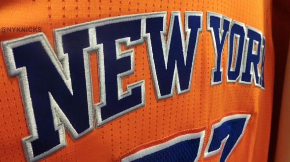 NY Knicks Orange