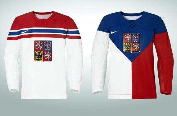 Czech Republic 2014 Olympic Hockey Jerseys Unveiled  404379d67a7