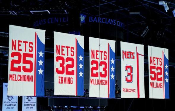 New Jersey Brooklyn Nets Retired Jersey Numbers 14ea952ea