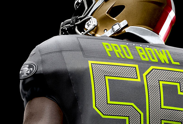 1f21f8609 2014 NFL Pro Bowl Jerseys Unleashed Upon Unsuspecting Masses