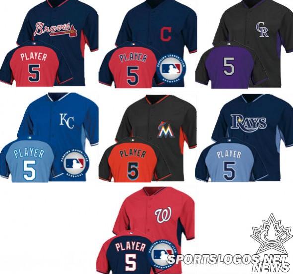 New MLB Uniforms 2014