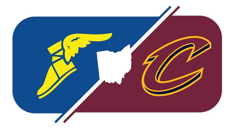cleveland cavaliers will have new uniforms for 2017 18 season rh news sportslogos net Basketball Shoe Logos Basketball Logo Design