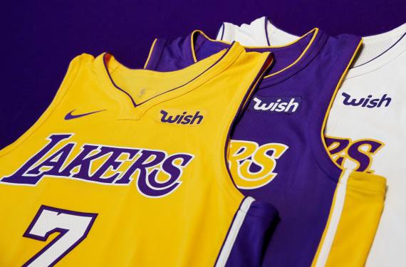 Heat and Lakers announce jersey sponsorships | Chris ...