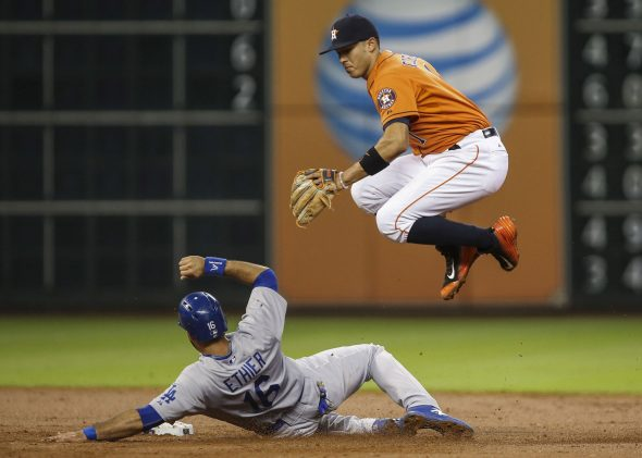 Astros vs Dodgers at Minute Maid Park in 2015 (Photo: © Troy Taormina-USA TODAY Sports)