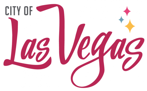 The City of Las Vegas logo, inspiration for Las Vegas Lights FC colour scheme