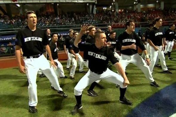 Baseball New Zealand Haka