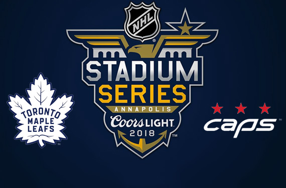a5054966a74 Tonight the Toronto Maple Leafs will visit the Washington Capitals to take  part in the 2018 Coors Light NHL Stadium Series game at Navy-Marine Corps  ...