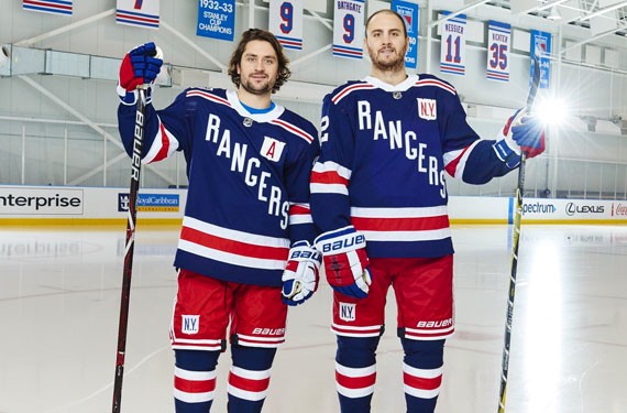 The New York Rangers this afternoon unveiled their uniforms for the 2018 NHL  Winter Classic 3f82b926106