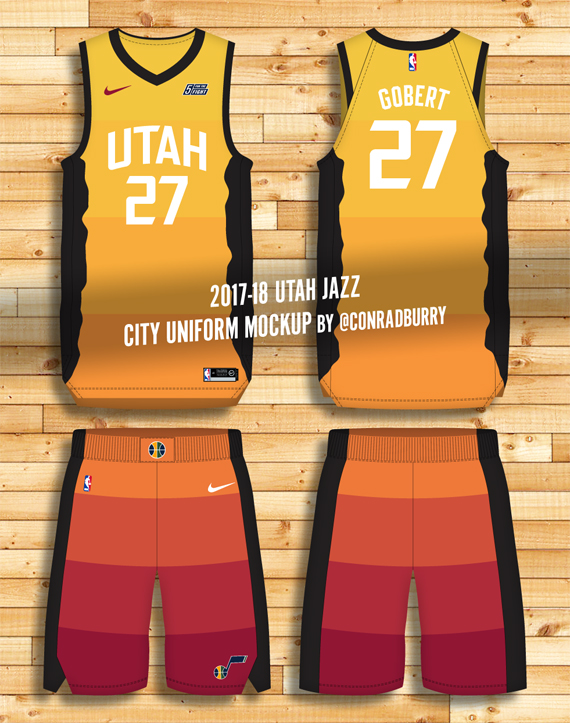 pretty nice d49d6 fd75a New Nike NBA City Edition Uniform Details, Mockups | Chris ...